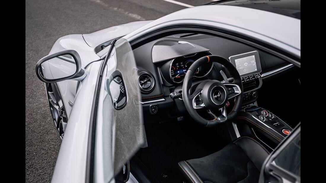Alpine A 110 S, Fahrbericht, 2019, Interieur