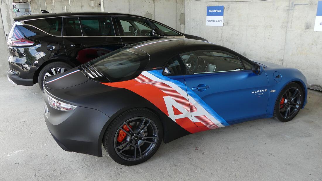 Alpine A110 - Esteban Ocon - Formel 1 - Fahrerautos - GP Ungarn 2021