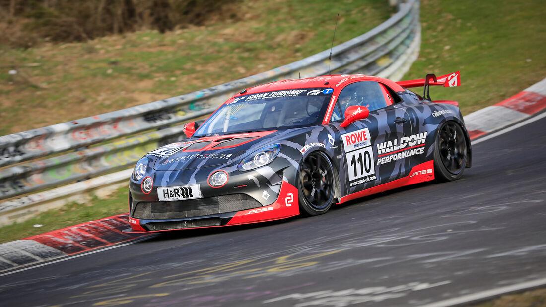 Alpine A110 GT4 - Startnummer #110 - SP10 - NLS 2021 - Langstreckenmeisterschaft - Nürburgring - Nordschleife
