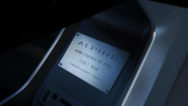 Alpine A110 LÉGENDE GT 2021