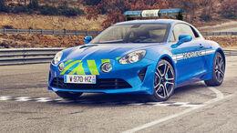 Alpine A110 Pure Police Polizeiauto Frankreich Render