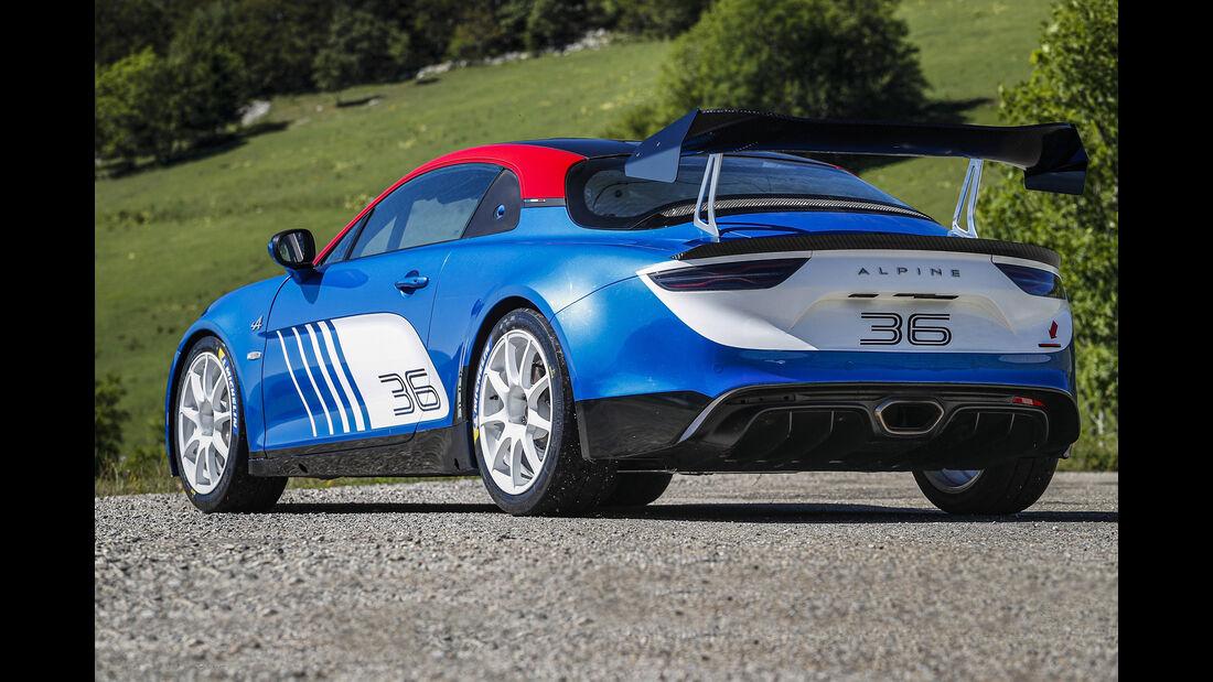 Alpine A110 Rally Kundensport Modell 2019