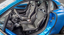 Alpine A110 S, Interieur