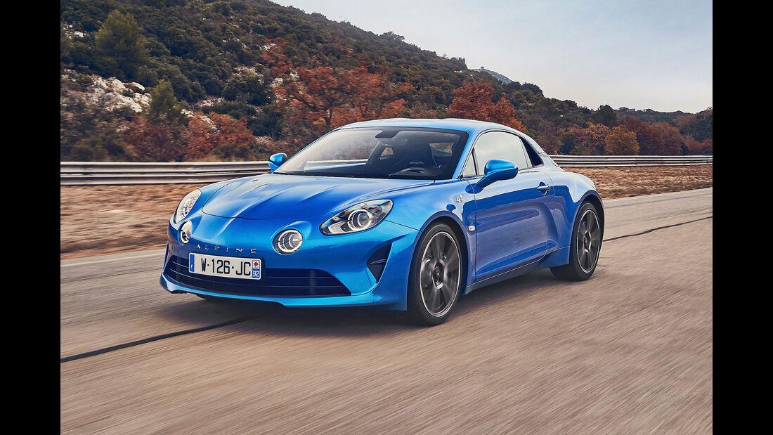 Alpine A110 - Serie - Coupes bis 75000 Euro - sport auto Award 2019