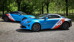 Alpine A110 Trackside Cars