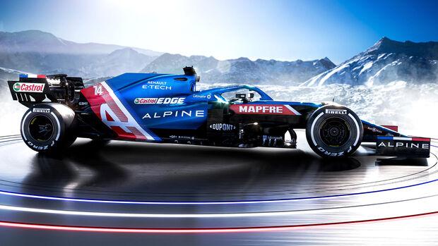 Alpine A521 - F1-Auto - 2021