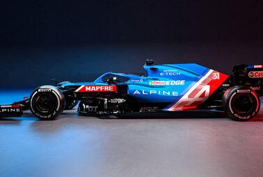 Alonso-Neustart ganz in Blau