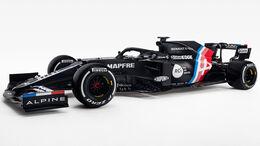 Alpine A521 - Formel 1 - Lackierung