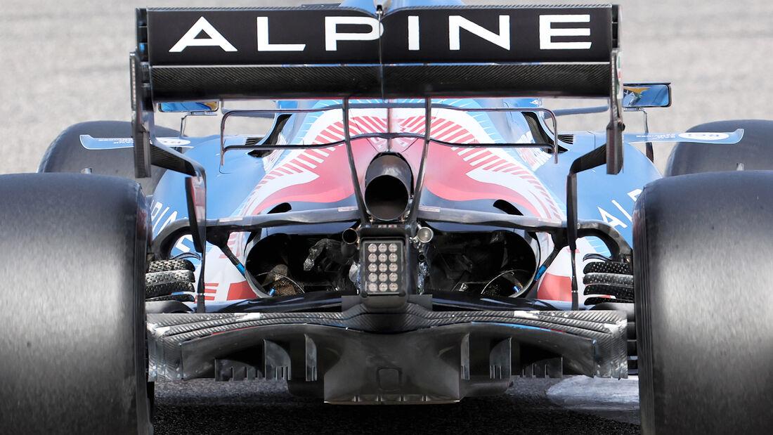 Alpine - Diffusor - Formel-1-Test - Bahrain - 2021