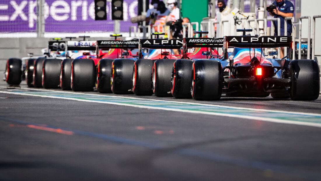 Alpine - Formel 1 - GP Aserbaidschan 2021