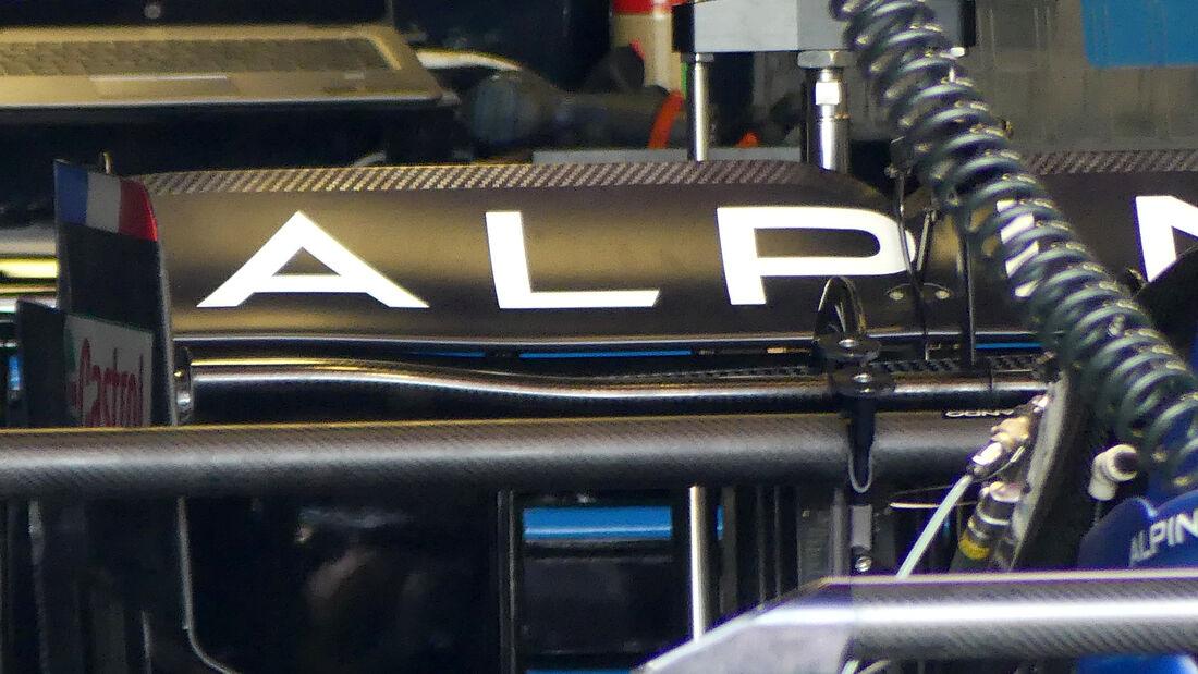 Alpine - Formel 1 - GP Aserbaidschan - Baku - Donnerstag - 3.6.2021