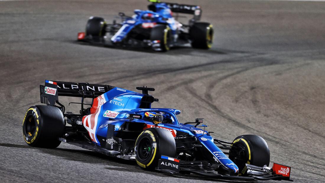 Alpine - Formel 1 - GP Bahrain 2021
