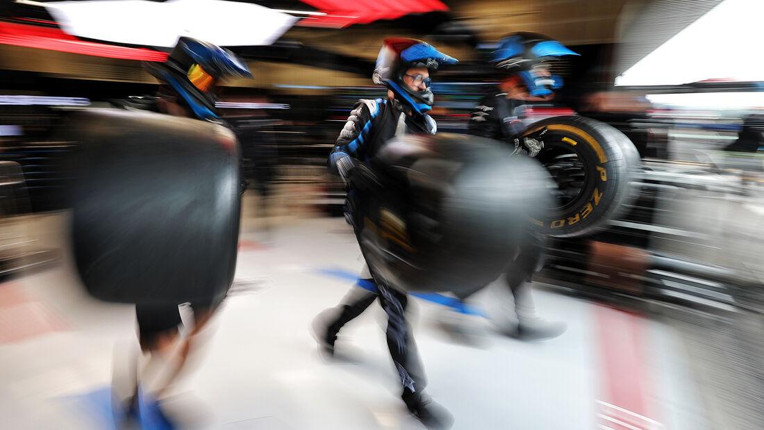 Alpine - Formel 1 - GP Belgien - Spa-Francorchamps - 27. August 2021