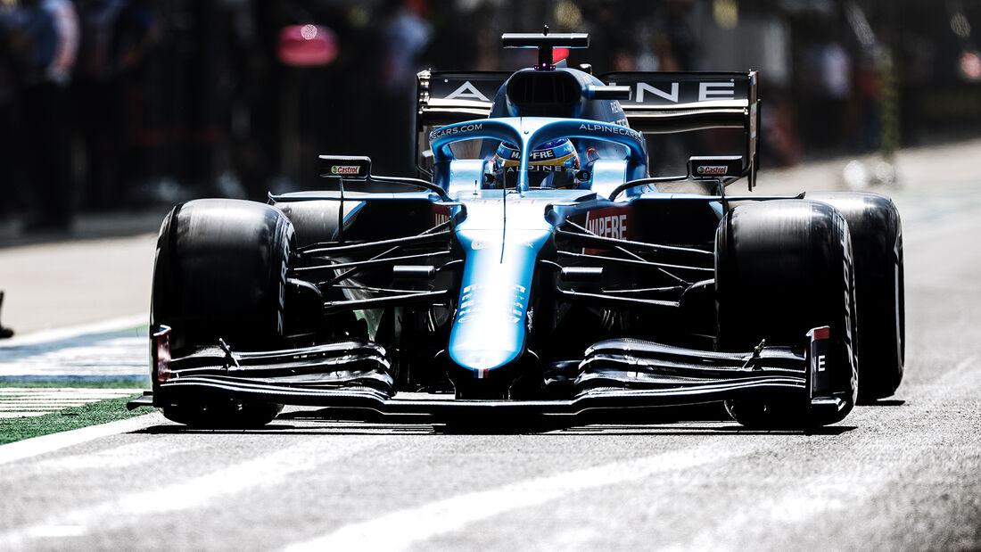 Alpine - Formel 1 - GP England 2021