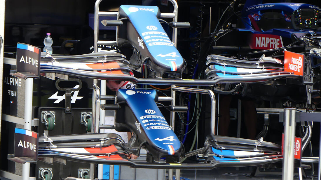 Alpine - Formel 1 - GP Frankreich - 17. Juni 2021