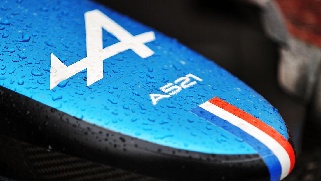 Alpine - Formel 1 - GP Frankreich 2021