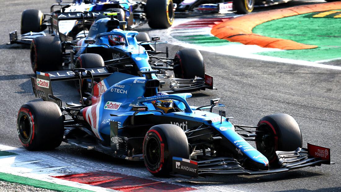 Alpine - Formel 1 - GP Italien - Monza - 2021