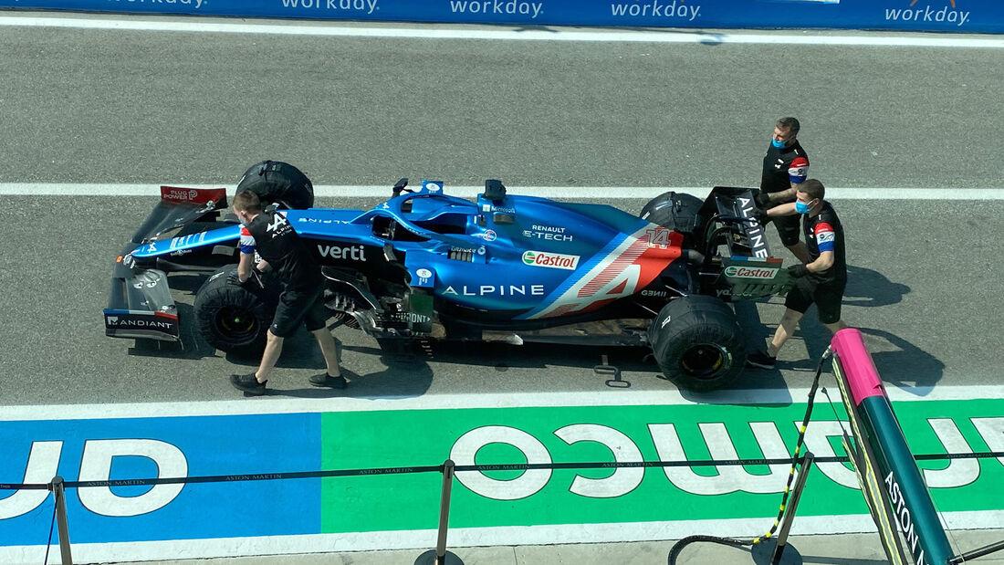Alpine - Formel 1 - GP Italien - Monza - 9. September  2021