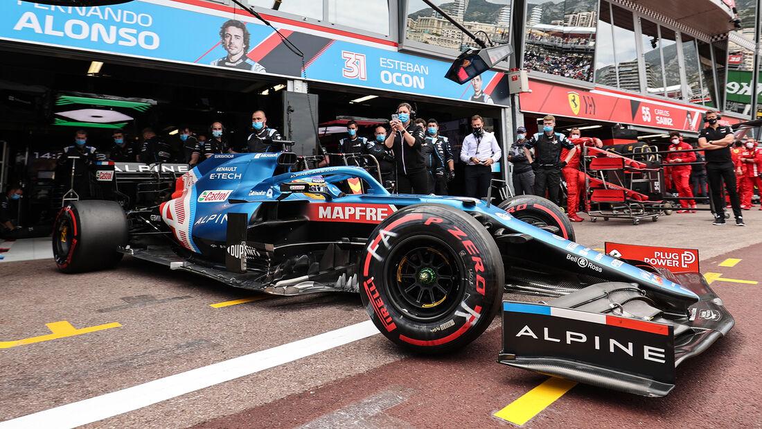 Alpine - Formel 1 - GP Monaco - 2021