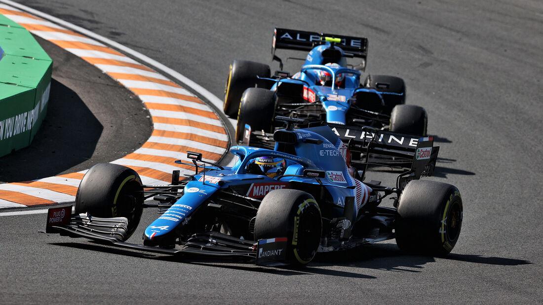 Alpine - Formel 1 - GP Niederlande - Zandvoort - 2021