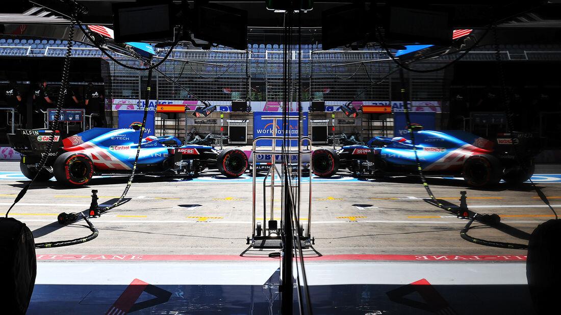 Alpine - Formel 1 - GP Österreich 2021