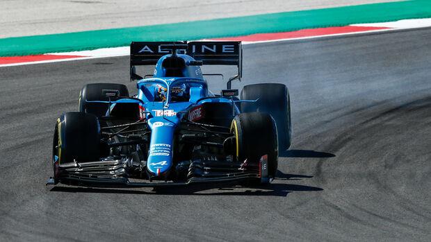 Alpine - Formel 1 - GP Portugal 2021