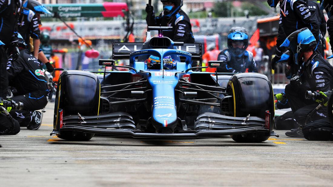 Alpine - Formel 1 - GP Russland 2021