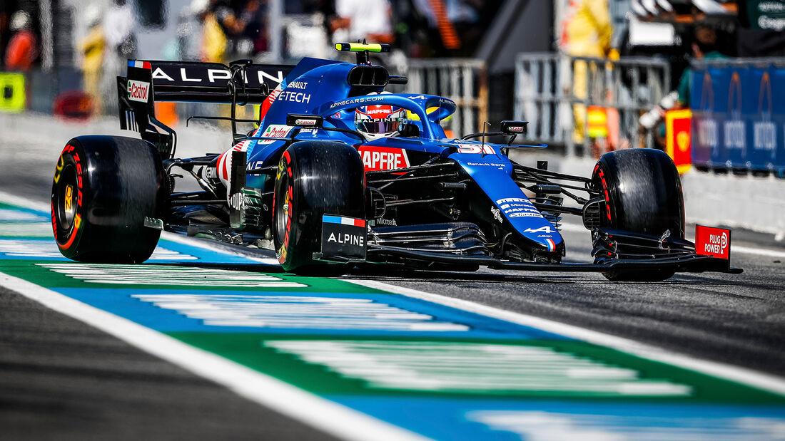 Alpine - Formel 1 - GP Spanien 2021