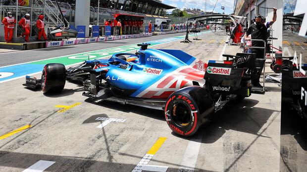 Alpine - Formel 1 - GP Steiermark - Spielberg - 2021