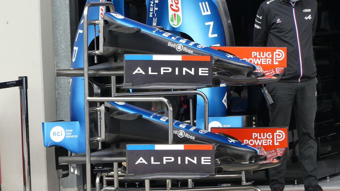 Alpine - Formel 1 - GP Türkei - Istanbul - 7. Oktober 2021