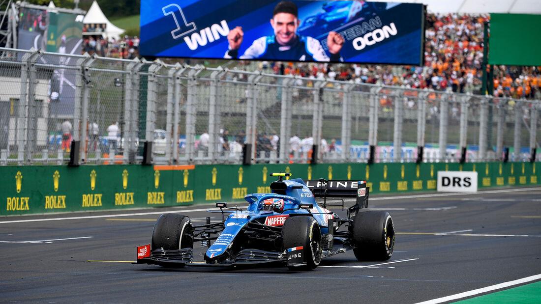 Alpine - Formel 1 - GP Ungarn 2021