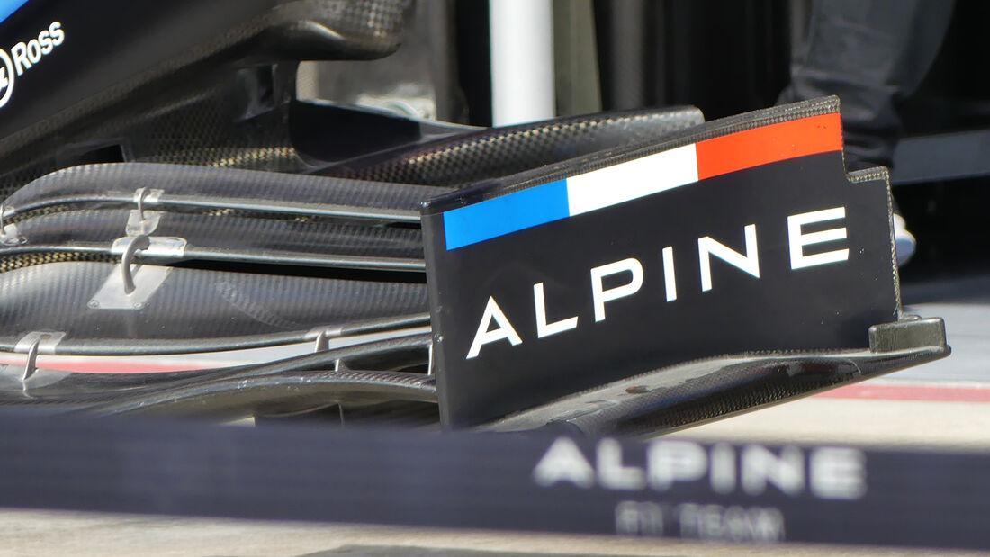 Alpine - Formel 1 - Imola - GP Emilia-Romagna - 15. April 2021