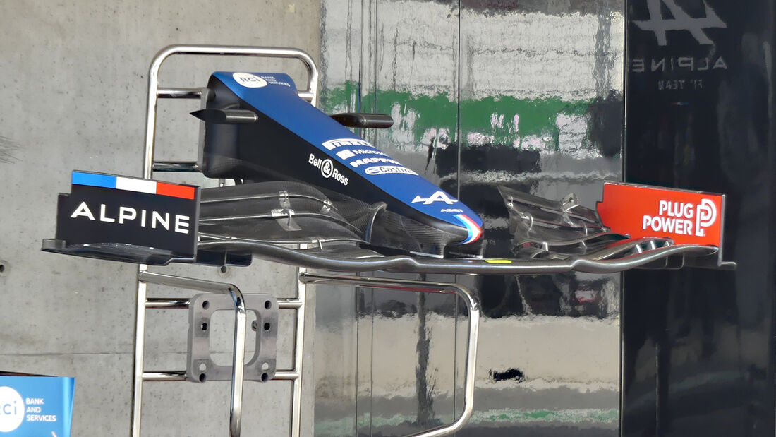 Alpine - Formel 1 - Portimao - GP Portugal - 29. April 2021