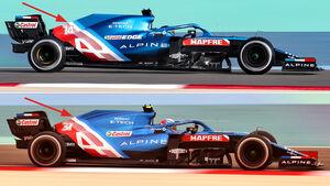 Alpine - Technik-Details - Formel 1 - 2021