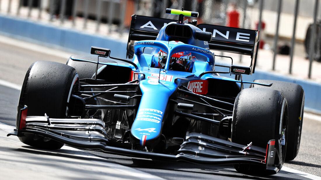 Alpine - Test - Formel 1 - Bahrain - 12. März 2021