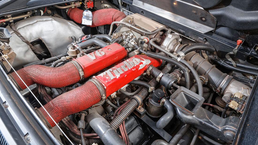 Alpine V6 Turbo, 1990, Motor