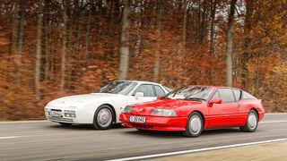 Alpine V6 Turbo 1990, Porsche 944 S2, 1991