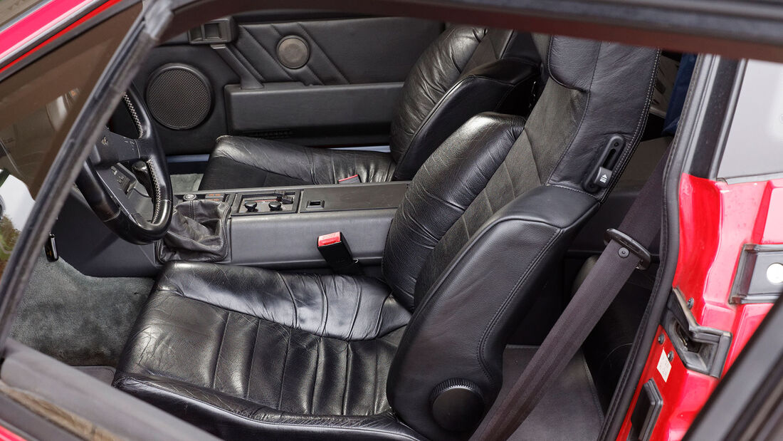 Alpine V6 Turbo, 1990, Sitze