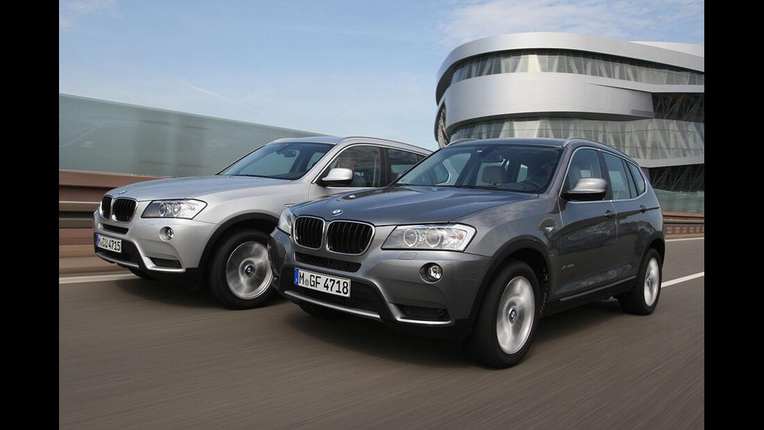 Alternativen Schaltgetriebe, BMW X3