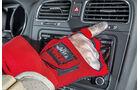 Alterungsanzug, Handschuh