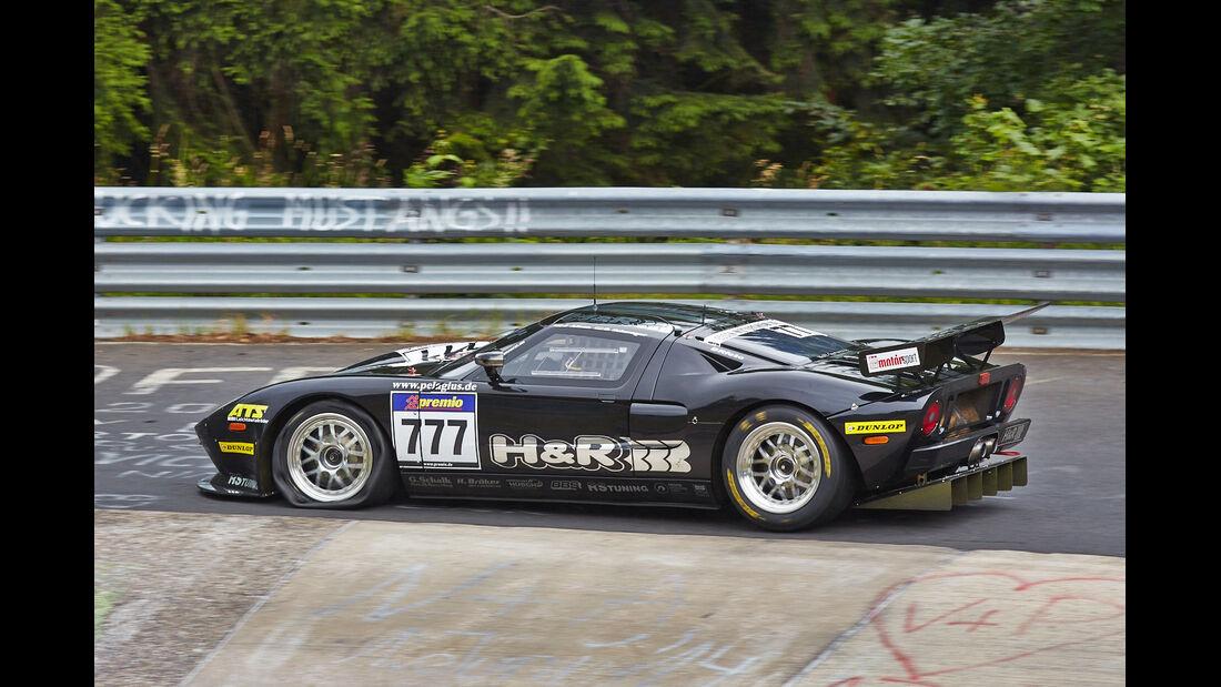 Alzen Ford GT  - VLN Nürburgring - 5. Lauf - 5. Juli 2014