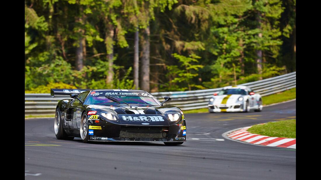 Alzen Ford GT - VLN Nürburgring - 6. Lauf - 2. August 2014