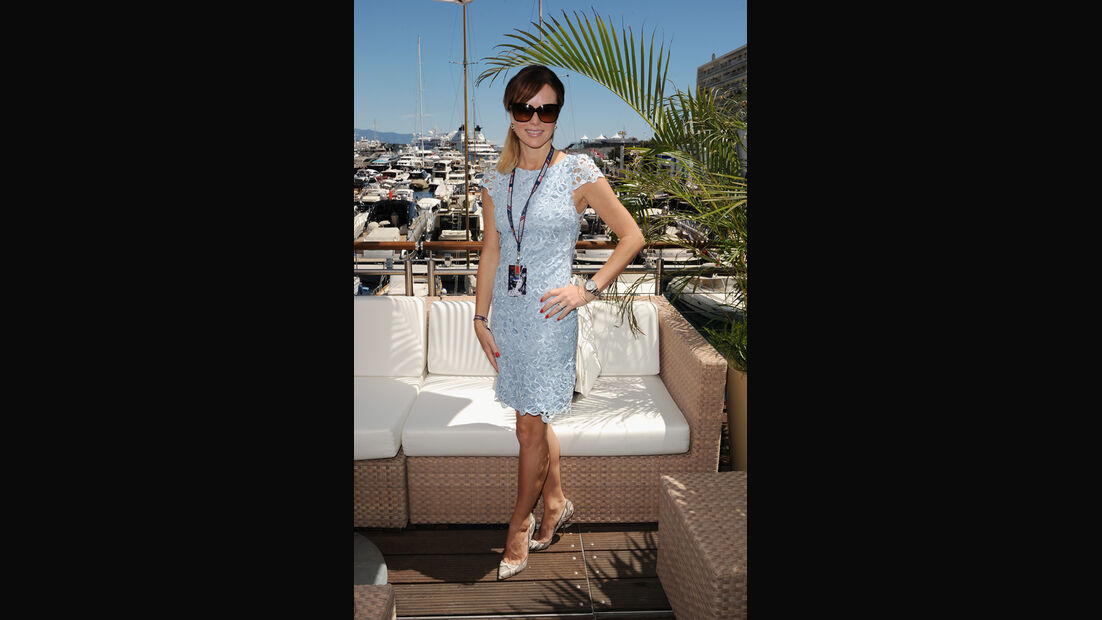 Amanda Holden - GP Monaco 2013 - VIPs & Promis