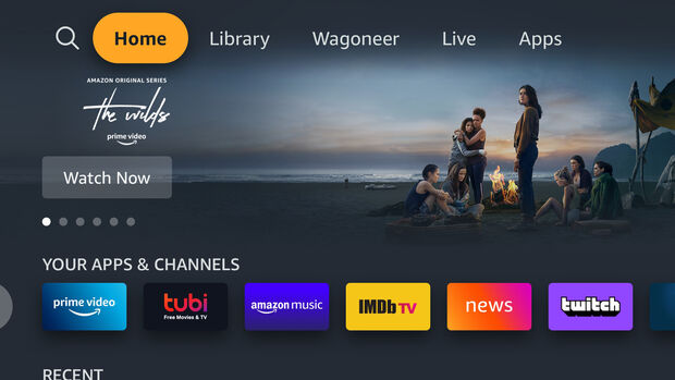 Amazon Fire TV for Auto Jeep Grand Wagoneer