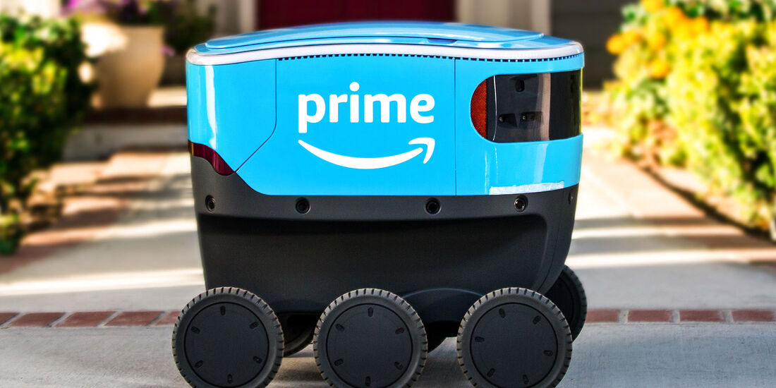 Amazon Scout Lieferroboter