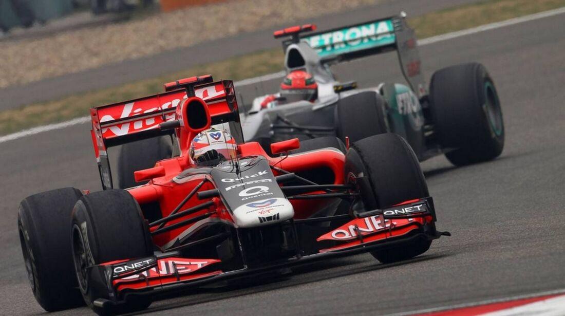 Ambrosio Schumacher Formel 1 GP China 2011