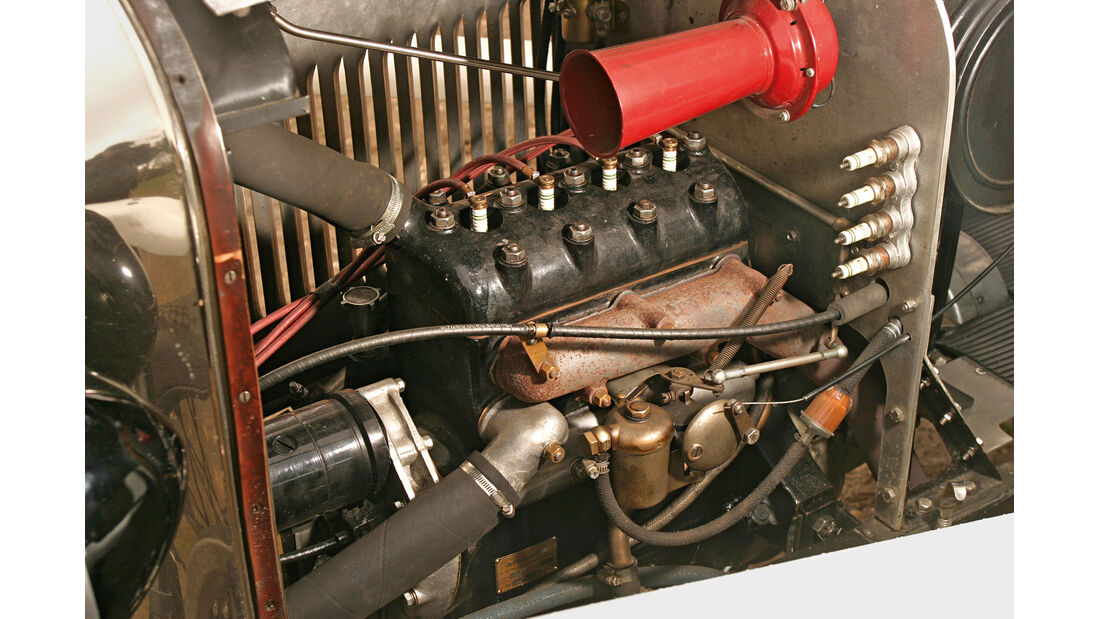 Amilcar CS, Motor