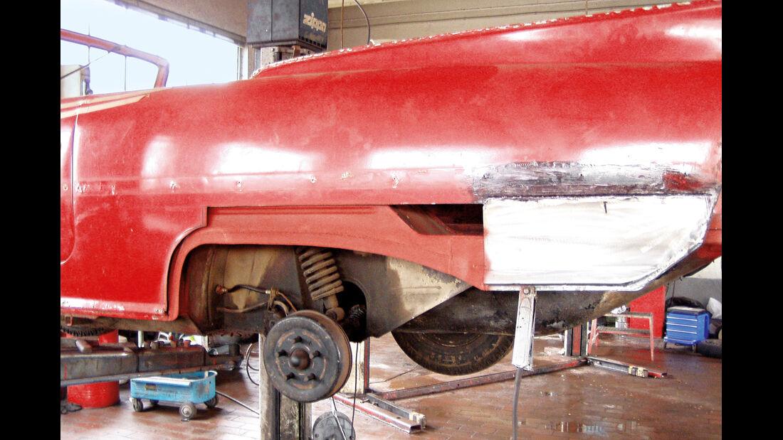 Amphicar 770, Blecharbeiten