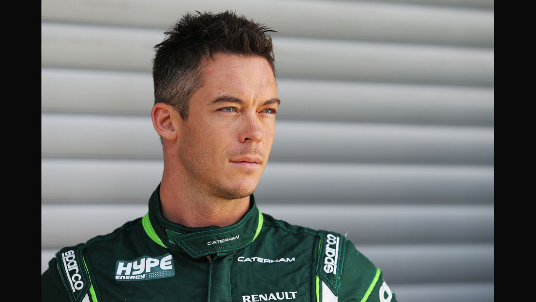 André Lotterer - Caterham - Formel 1 - GP Belgien - Spa-Francorchamps - 21. August 2014