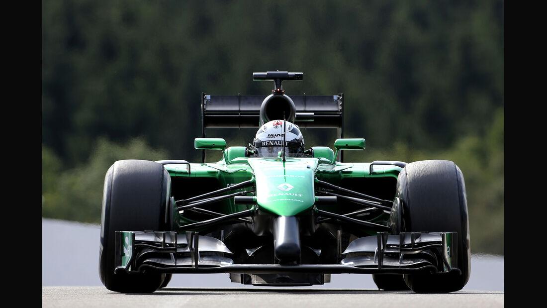 André Lotterer - Caterham - Formel 1 - GP Belgien - Spa-Francorchamps - 22. August 2014